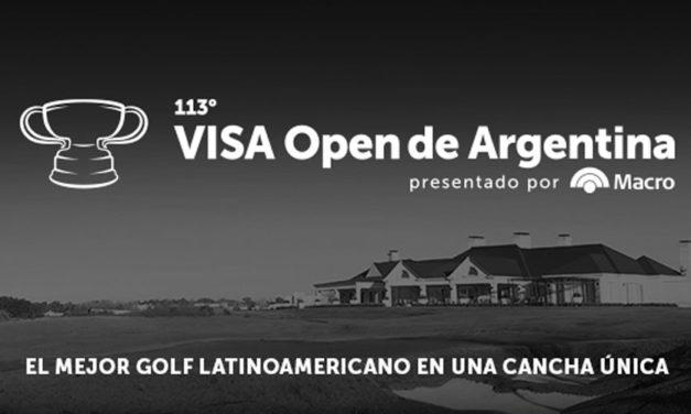 Arranca el 113° VISA Open de Argentina presentado por Macro en Pilará GC