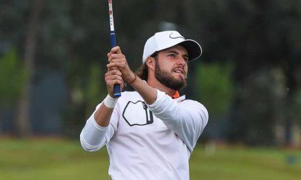 Benítez asume liderato a la mitad del VISA Open de Argentina