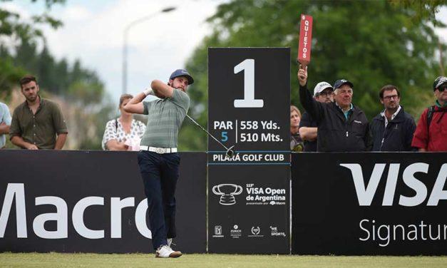 Benítez es líder por cinco golpes en el VISA Open de Argentina