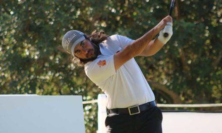 Daniel Berná, todo a su favor para su primera victoria en el Circuito Seve Ballesteros PGA Tour en Castellón