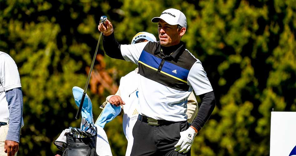 Clodomiro Carranza quedó a sólo un golpe del puntero en el Neuquén Argentina Classic que se lleva a cabo en el Chapelco Golf Club