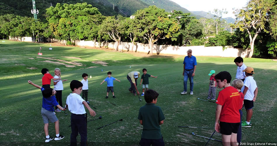 Galería Driving Range del Caracas Country Club