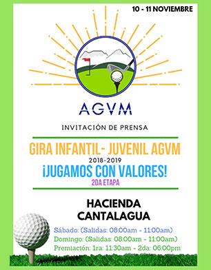 Gira Infantil Juvenil AGVM 2018 - 1019, Hacienda Cantalagua, 10 y 11 de Noviembre