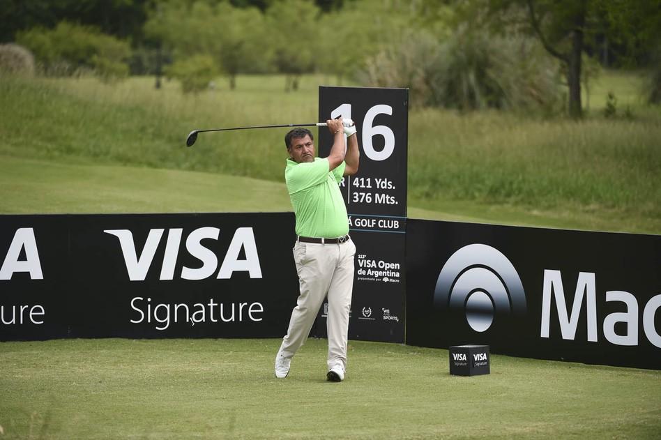Ricardo González es candidato para quedarse con el 113° VISA Open de Argentina presentado por Macro