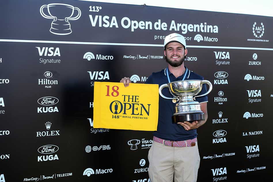 Benítez jugará The Open en 2019