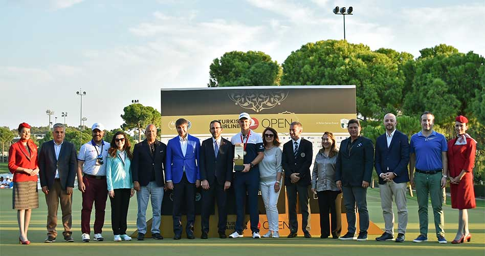 Justin Rose gana el Turkish Airlines Open 2018 por segundo año consecutivo