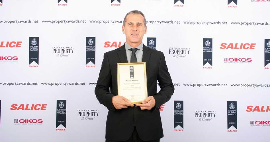 Las Colinas Golf & Country Club, premiado en los prestigiosos European Property Awards