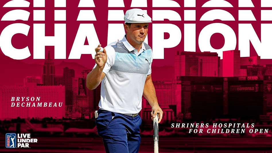 Mexicano Ancer y chileno Niemann Top-10 en el Shriners Open en Las Vegas
