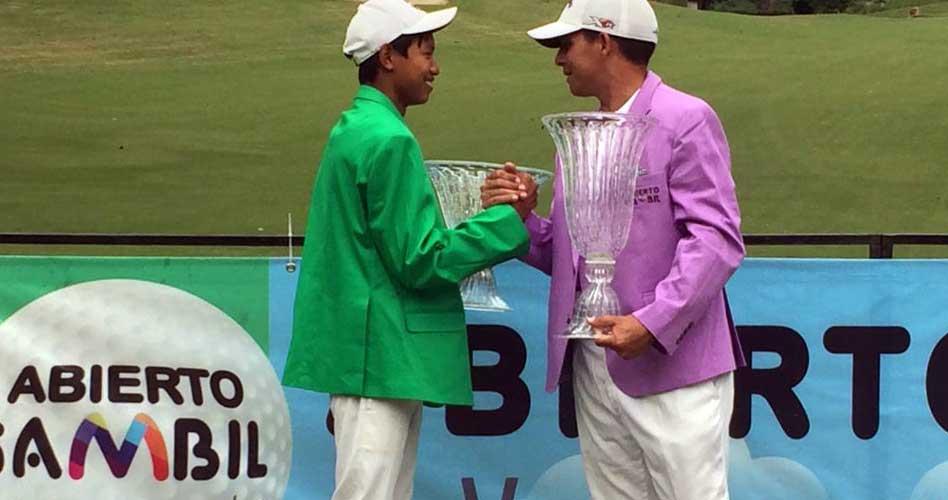 Richard Rojas y Amauriel Fernández campeones del XV Abierto Sambil de Golf