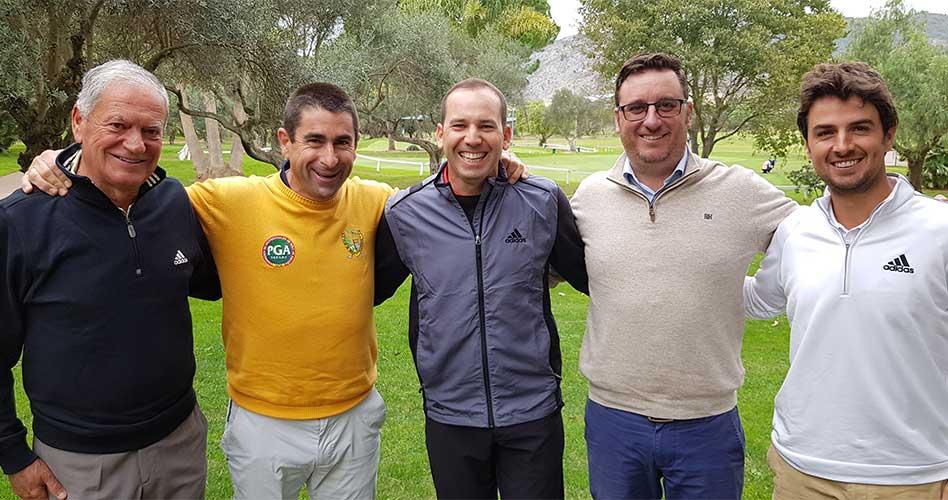 Sergio García se vuelca con la Gran Final del Circuito nacional en el C.C. del Mediterráneo