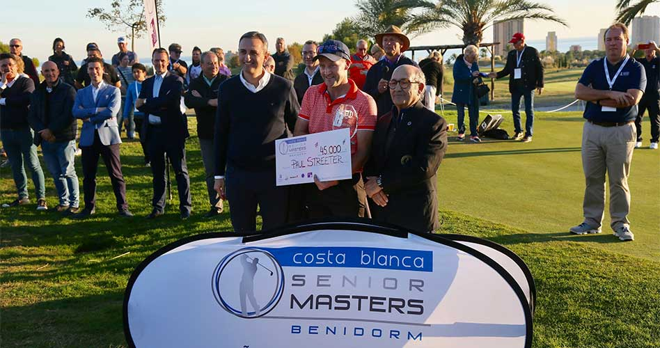 Jiménez cae en el playoff de un histórico Costa Blanca Benidorm Senior Masters