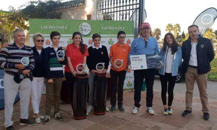 La cantera de Lauro Golf Resort destaca en la celebración del Torneo Volvo – Vypsa Día del Club