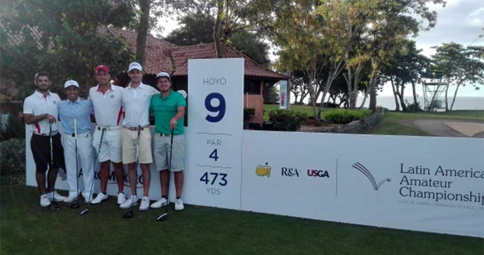 Golfistas peruanos en importante competencia en República Dominicana