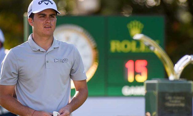 "Jorge ""Pichu"" García terminó sexto en Latinoamericano Amateur de Golf"