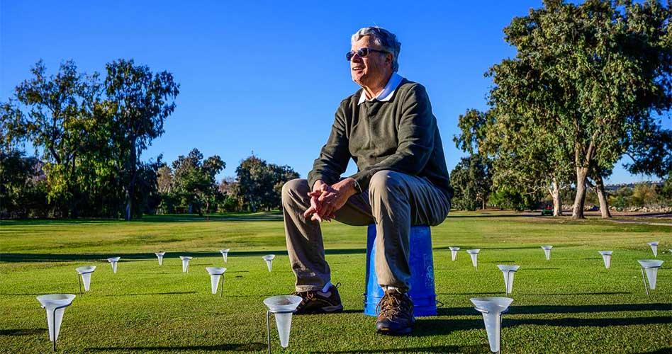 Michael Huck galardonado con el Premio de la Sección Verde de la USGA