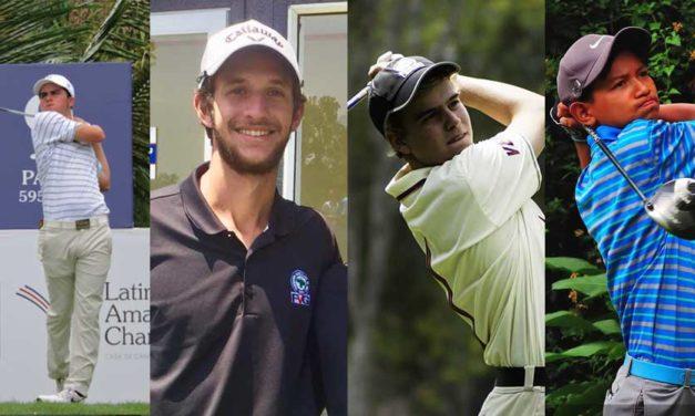 """""""Pichu"""" García encabeza sexteto de golf venezolano en Latinoamericano Amateur"""