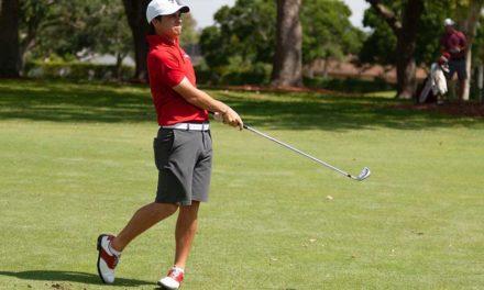 """""""Pichu"""" García está séptimo en Latinoamericano de Golf"""