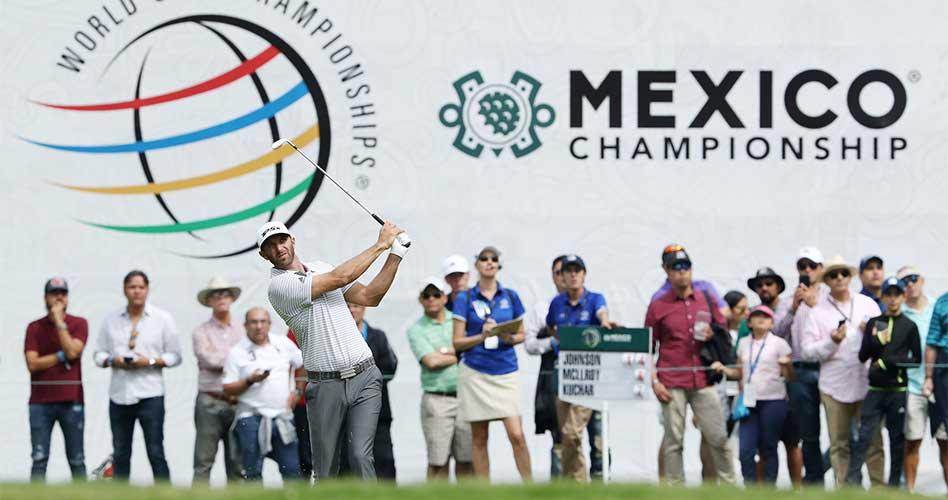 Dustin Johnson escapa en el WGC-Mexico Championship