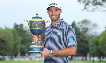 Dustin Johnson fue imparable en el WGC-Mexico Championship