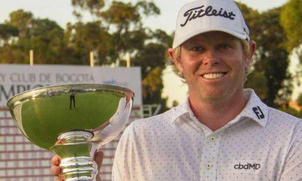 Mark Anderson, el campeón del Country Club de Bogotá Championship
