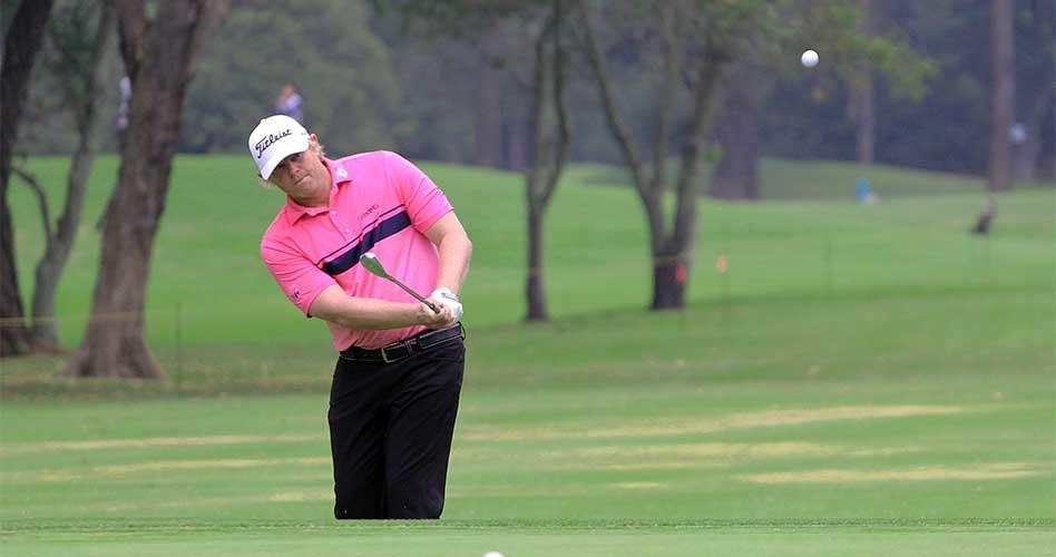 Mark Anderson, líder parcial de un suspendido Country Club de Bogotá Championship