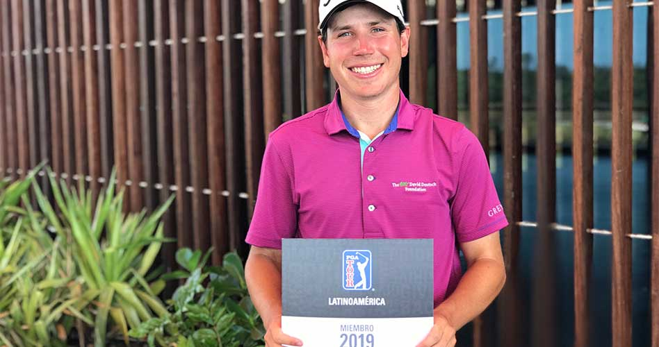 Patrick Flavin fue el medallista del Q-School en Brasil