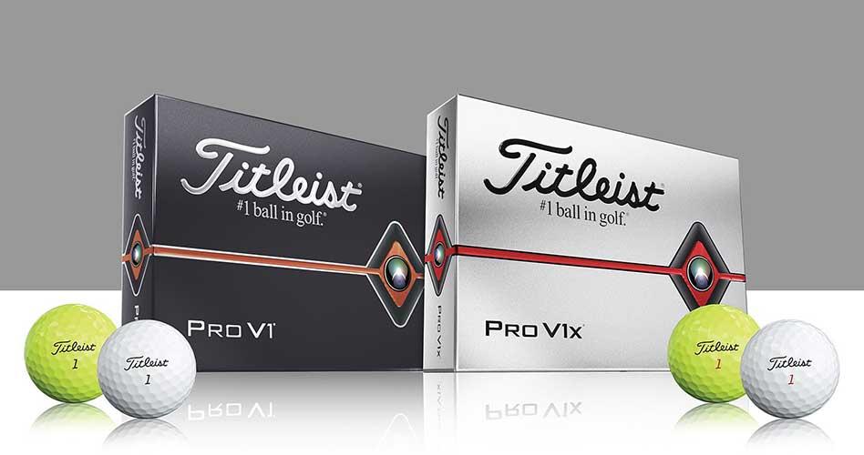 Titleist Presenta las Nuevas Pelotas de Golf Pro V1 y Pro V1x, Diseñadas para más Velocidad