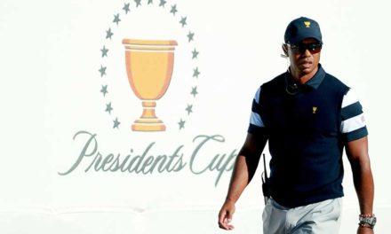 Woods nombra a tres asistentes de capitán para la Presidents Cup 2019