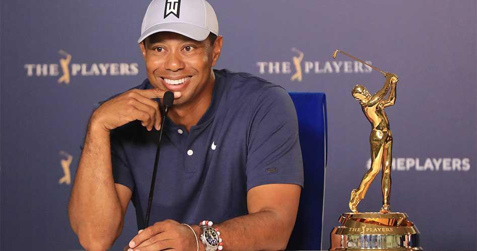 Woods está preparado para la carrera por EL PLAYERS Championship