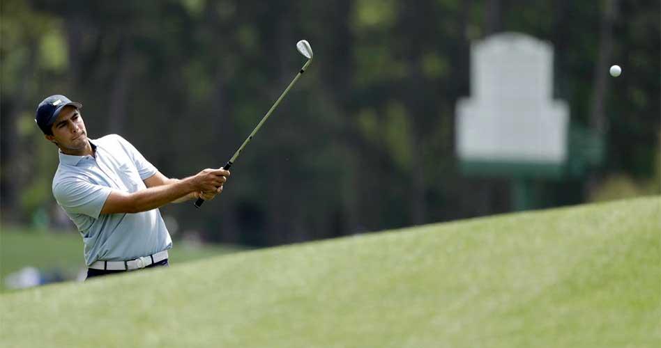 Álvaro Ortiz comienza su sueño en Augusta