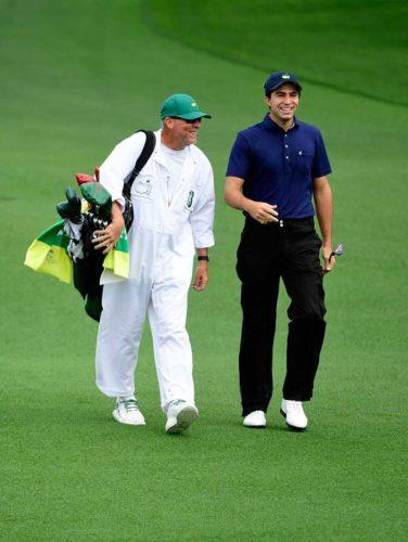 El mexicano Álvaro Ortiz, se convirtió en el primer campeón del LAAC en superar el corte en el Masters. / Gentileza: Augusta National Golf Club
