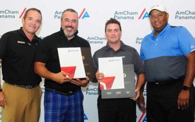"""AmCham realiza con éxito su Torneo de golf anual """"El Golfista y el Amigo"""" 2019"""