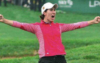 Carlota Ciganda sigue batiendo récords para el golf español. Ya es la octava mejor golfista del mundo