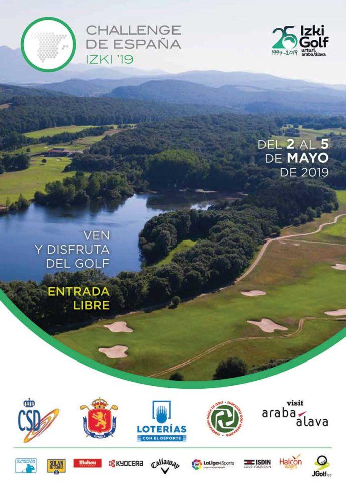 Izki golf prueba ineludible en el inicio del Challenge Tour 2019