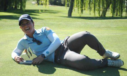 Nuria Iturrios se impone a lo grande en el Santander Golf Tour de Málaga