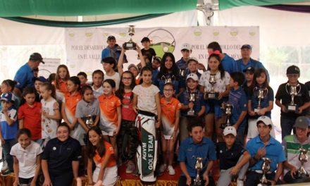 Premian en Six Flags a golfistas de la AGVM