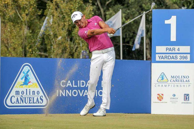 Andrés Romero (ARG), es una de las figuras que jugarán el III Molino Cañuelas Championship. / Gentileza: Enrique Berardi/PGA TOUR.