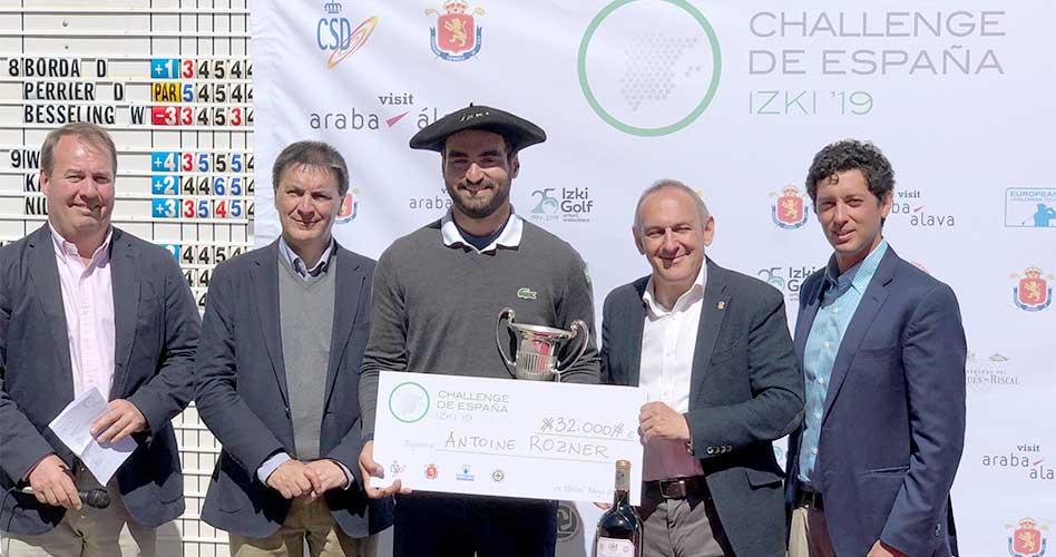 Antoine Rozner impone su ley y vence en el Challenge de España con un final de vuelta magistral