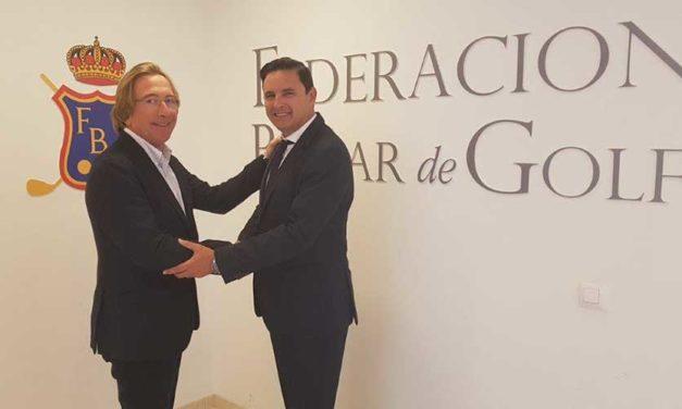 Grupo Piñero firma un acuerdo con la Federación Balear de Golf y redobla su apuesta por el golf