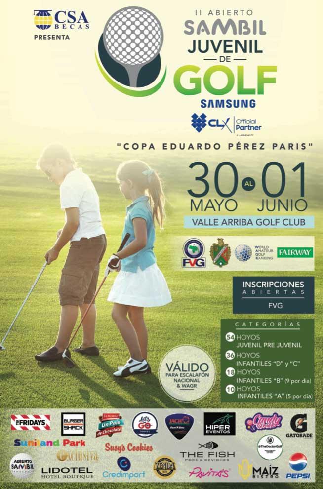 "II Abierto Sambil Juvenil de Golf ""Copa Eduardo Pérez París"