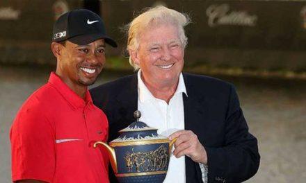 Trump concederá la Medalla Presidencial a la Libertad a Woods