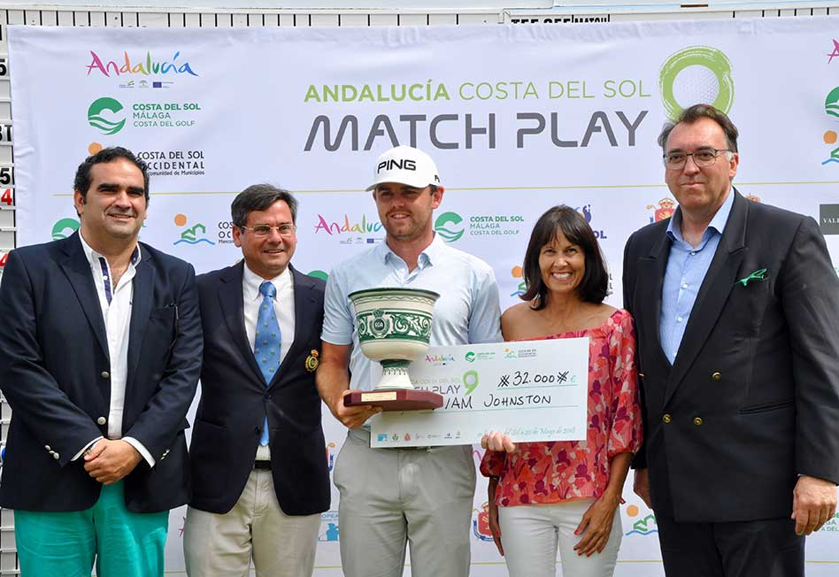 Liam Johnston, vencedor en 2018 del Andalucía Costa del Sol Match Play 9