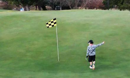 Isaac Riches, el niño prodigio australiano, muestra su nivel con un Trick Shot casi imposible