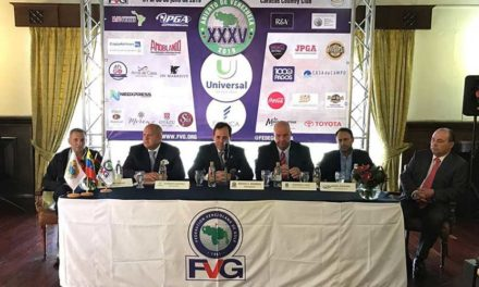 Los mejores golfistas del país en XXXV Abierto de Venezuela