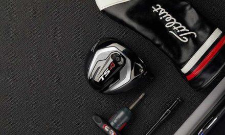 Titleist presenta el nuevo Driver TS4: un diseño que produce un efecto ultra bajo con velocidad