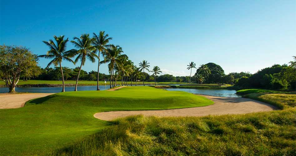 The Links, en Casa de Campo, es la cancha donde se diputa la 63era edición de los Campeonatos de Golf Amateur del Caribe