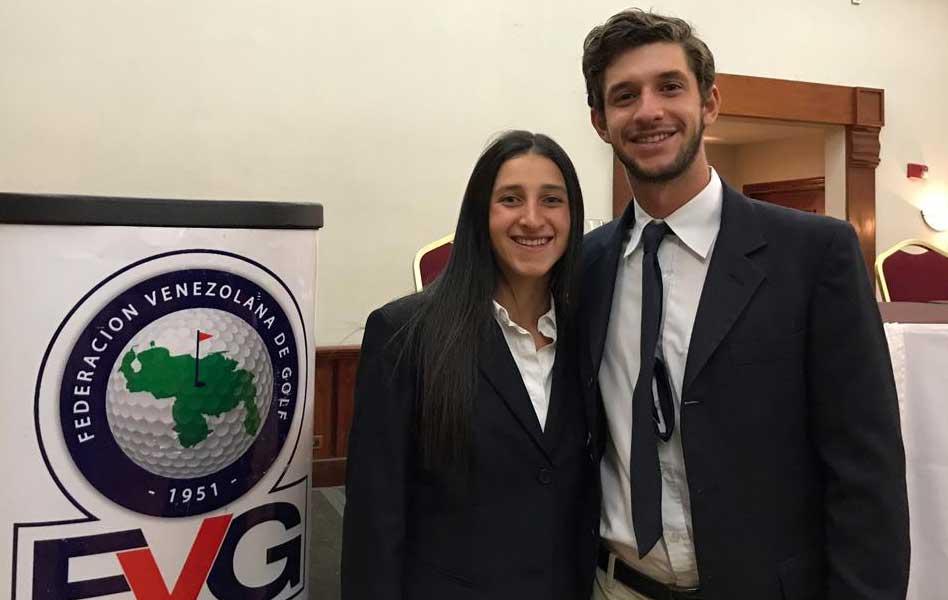 Valentina Gilly y Manuel Torres representarán a Venezuela en Panamericanos de Lima