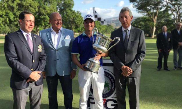 George Trujillo revalidó título en Abierto de Venezuela de Golf