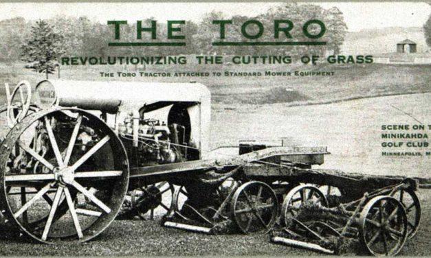 """Gracias """"The Toro"""" por más de 100 años en la industria del golf"""