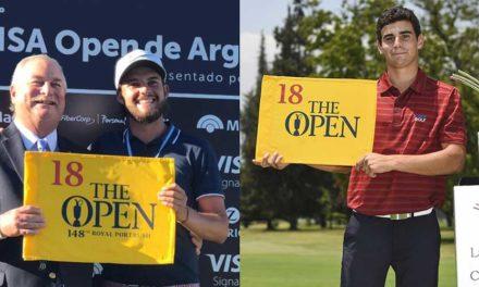 Isidro Benítez y Joaquín Niemann debutan en The Open